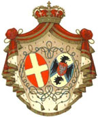 Coat of arms of H.M. Queen Elena of Italy, born princess of Montenegro